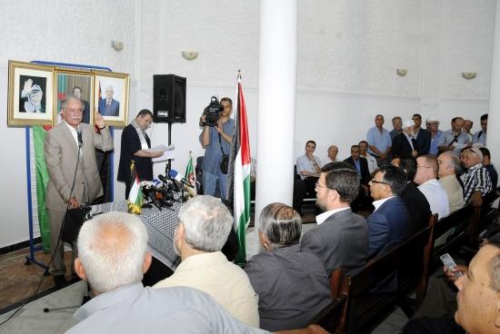 السفير الفلسطيني يثني على موقف الجزائر الثابت من قضية العرب الأولى