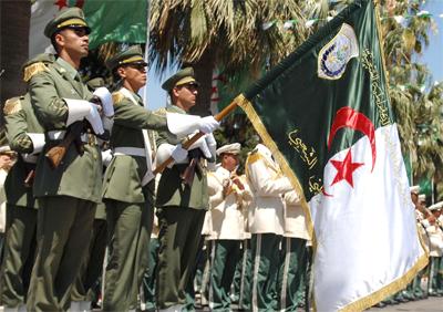 L'Armée nationale algérienne a défilé sur les Champs-Elysées