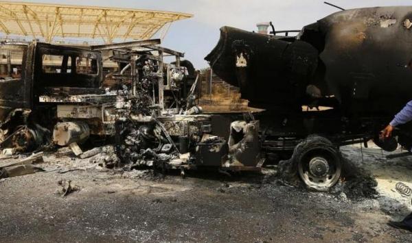 تدمير 90% من الطائرات بقصف لمطار طرابلس