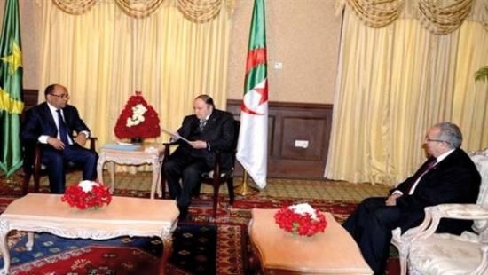 رئيس الجمهورية يستقبل المبعوث الخاص للرئيس الموريتاني