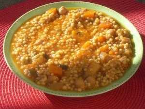 Berkoukes bel Khodra - Plombs aux légumes