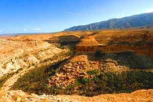 Le Canyon de Ghoufi, un site naturel protégé par l'UNESCO