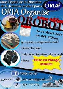 OROBOT'2015 Concours de robotique et expositions