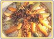 Couscous à la sauce piquante