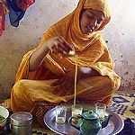 Le thé façon touarègue