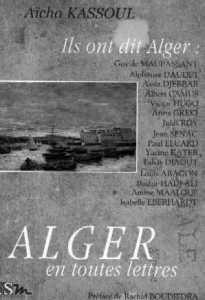 Alger en toutes lettres de Aïcha Kassoul, 2003
