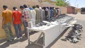 Plus de 100 contrebandiers arr�t�s dans plusieurs r�gions frontali�res du pays