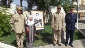 Baptisation du secteur militaire de S�tif au nom du chahid Dahmoune Tahar