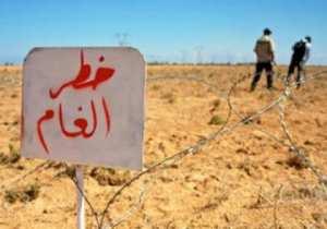 سكان تبسة يحتجون بغلق الطريق الوطني رقم 16 للمطالبة بطريق خاص يتجنب الألغام