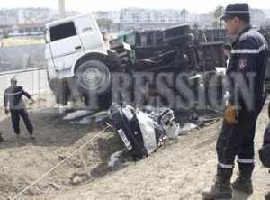 7 femmes meurent dans un accident de la route