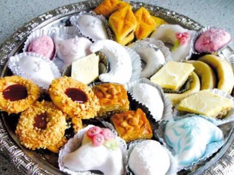 Constantine , Gâteaux traditionnels de lAïd El Fitr  Savoir,faire et raffinement