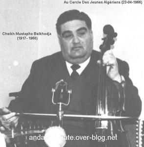 Cheikh Mustapha Kamil  Belkhodja: Un autre  maître…