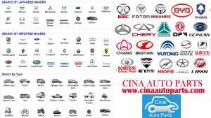 vend en gros de toutes les pièces d'auto de la Chine