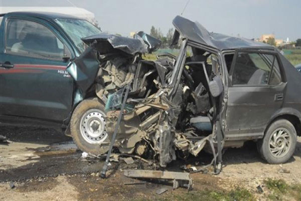 وفاة أربعة أشخاص وجرح سبعة في حادث مرور بإيليزي