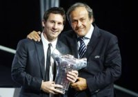 Messi et Platini cités