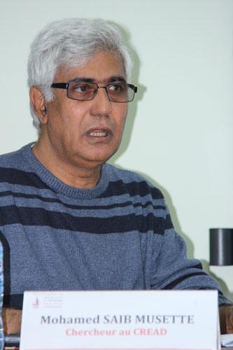محمد صايب موسات يقدم قراءة حول هجرة الأدمغة بكراسك وهران ويصرح