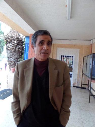 رايس علي عمر رئيس السابق لرابطة وهران للتنس