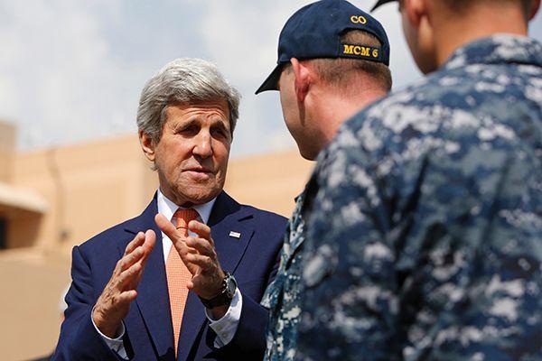 أمريكا تقود مناورة بحرية في مياه الشرق الأوسط