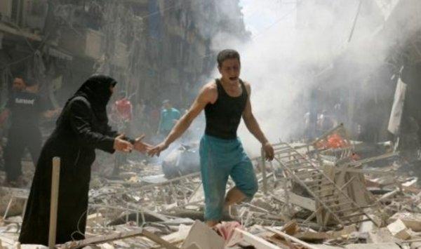 المعارضة السورية تمنع المدنيين من مغادرة حلب الشرقية