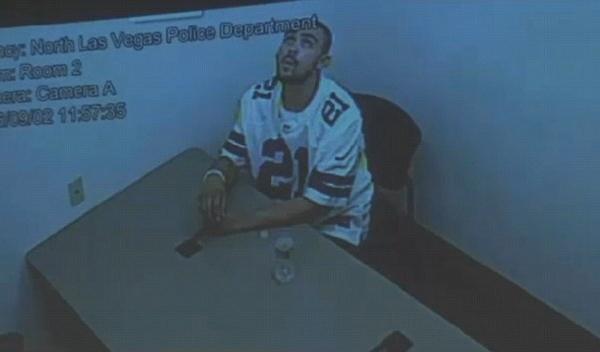 شاهد لحظة هروب قاتل من السجن بعد أن كسر قيوده.. نظر إلى الأعلى وابتكر طريقاً للفرار