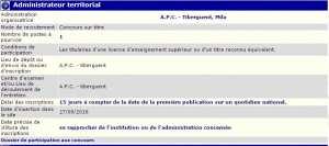 توظيف ببلدية تيبرقنت ولاية ميلة (متصرف اقليمي)