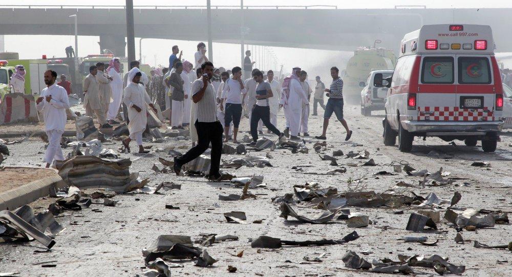 إصابة 3 أشخاص إثر سقوط قذائف عسكرية على جنوب غرب السعودية