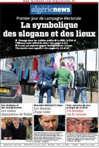 AlgerieNews 15 - 04 - 2012