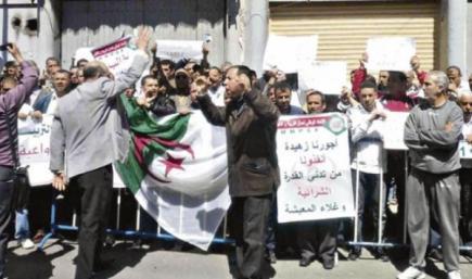 المتعاقدون يباشرون احتجاجات جهوية لمطالبة سلال بتطبيق وعوده