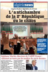 AlgerieNews 17 - 04 - 2012