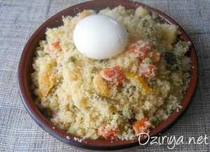 couscous berbère aux 9 légumes à la vapeur