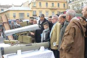 المدرسة التطبيقية للمدفعية لبوسعادة تعرض أسلحتها بقسنطينة