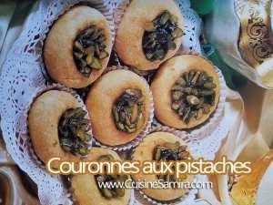 Couronnes aux pistaches