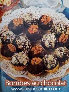 Bombes au chocolat
