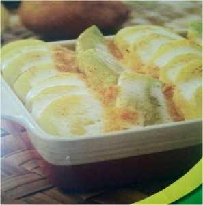 Préparation facile gratin de fenouil pomme de terre