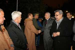 وزير العمل والتشغيل والضمان الاجتماعي السيد محمد الغازي في زيارة عمل إلى ولاية سعيدة