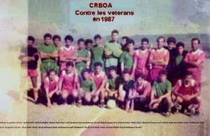 L'équipe d'ouled aissa VS équipe veterans en 1987