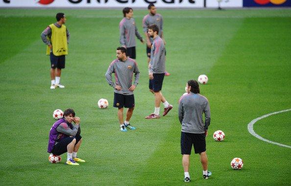 برشلونة يستأنف تدريباته بستة لاعبين فقط