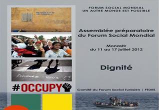 الجمع التحضيري للمنتدى العالمي الإجتماعي يعقد أشغاله بتونس مع مشاركة وفد عن ديناميكية المنتدى الإجتماعي الصحراوي
