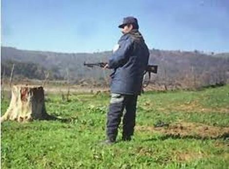 اشتباك مسلح بين جماعة إرهابية والحرس البلدي بسكيكدة