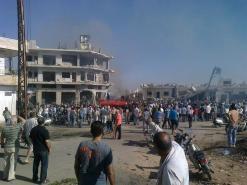 المعارضة السورية متهمة دوليا بانتهاك حقوق الإنسان في سوريا بالتزامن مع وقوع مجزرة وانفجار شاحنة جديدة في حماه