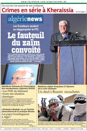 AlgerieNews 14- 07 - 2012