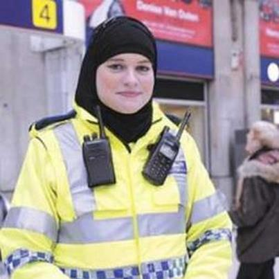 الحجاب يحاربه المسلمون ومسموح في بريطانيا