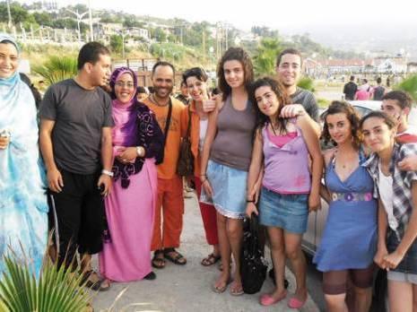 des enfants sahraouis hôtes de Tigzirt Colonies de vacances à Tizi Ouzou
