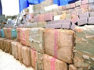 حجز 10 أطنان من المخدرات عبر حدود الوطن خلال السداسي الأول ل2012