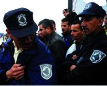 Une nouvelle marche sur Alger Gardes communaux