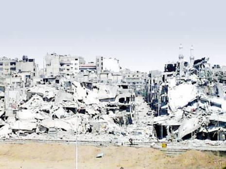 la battaille de Damas a commencé Les rebelles attaquent les troupes du régime