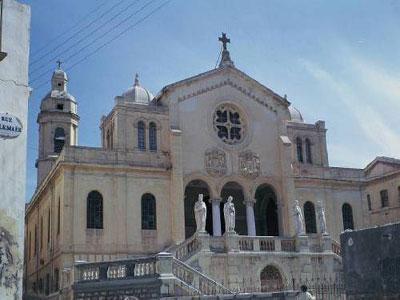 Plan de restauration d'urgence de l'ancienne église St Louis d'Oran Protection des sites culturels et archéologique en péril