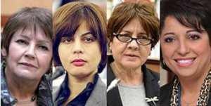 Quatre femmes pour quatre ministères