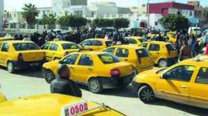 سائقو الأجرة عبر خط حامة بوزيان بقسنطينة في إضراب