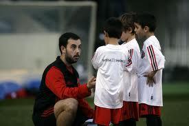 Les inscriptions ont d�but� l'�cole de football Milan AC Alg�rie